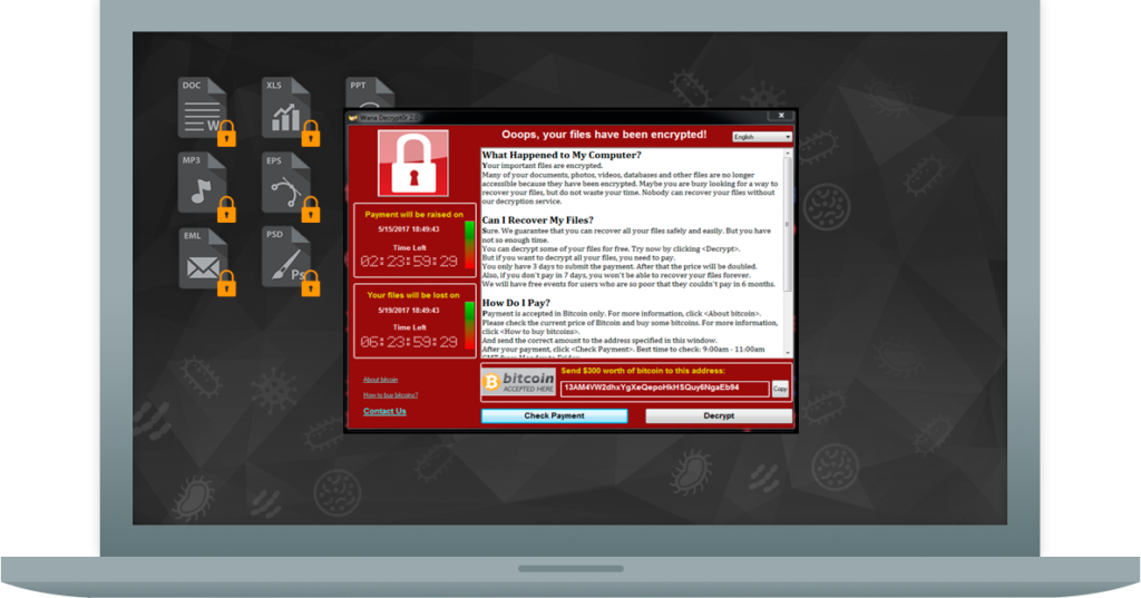 Social Engineering, Phishing, Ransomware, Malware